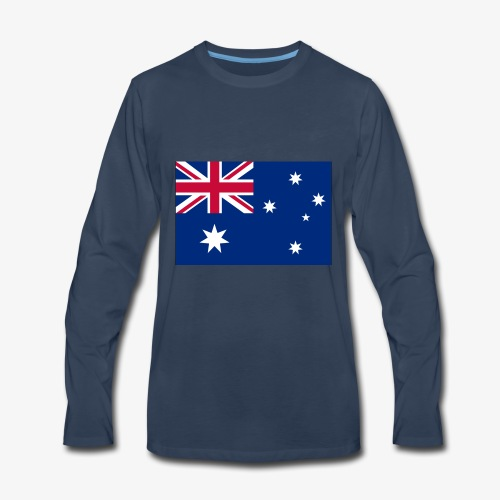 Bradys Auzzie prints - Men's Premium Long Sleeve T-Shirt