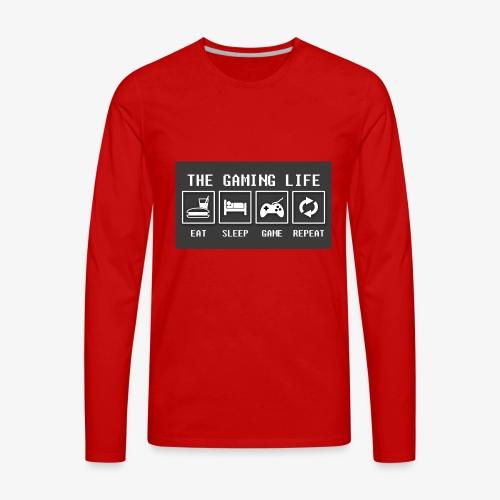 Gaming is life - Men's Premium Long Sleeve T-Shirt
