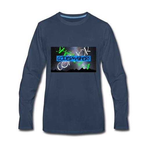 Codesmashers - Men's Premium Long Sleeve T-Shirt