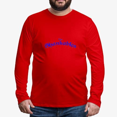 The Shankables Logo - Men's Premium Long Sleeve T-Shirt