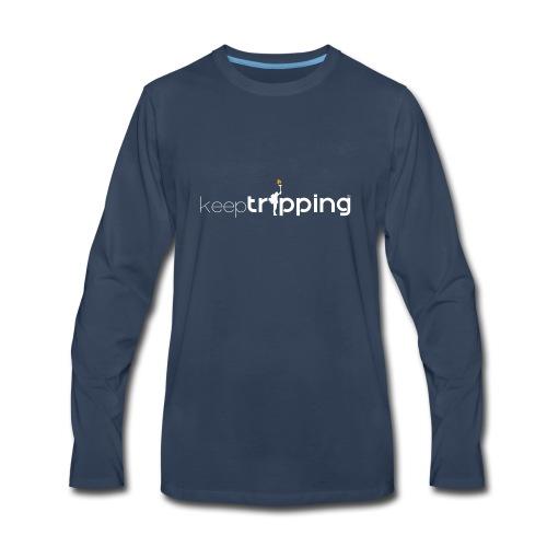 keepTripping - Men's Premium Long Sleeve T-Shirt