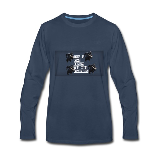 KINGKONG! - Men's Premium Long Sleeve T-Shirt