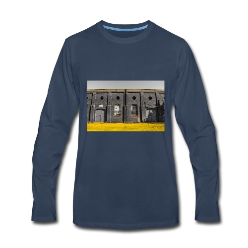 Bricks: who worked here - Men's Premium Long Sleeve T-Shirt