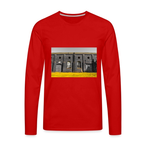 Bricks: who worked here - Men's Premium Long Sleeve T-Shirt