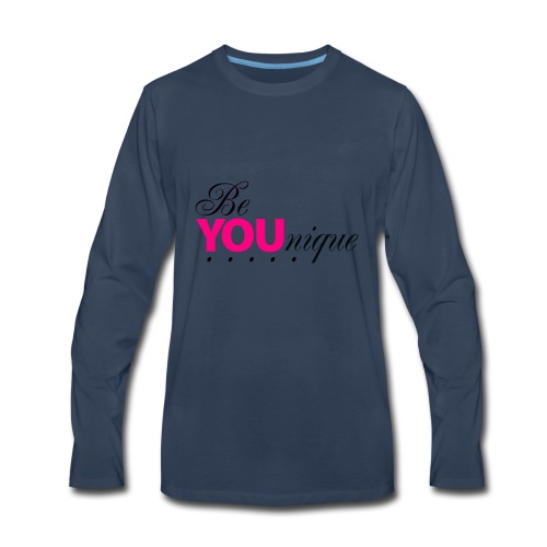 Be Unique Be You Just Be You - Men's Premium Long Sleeve T-Shirt
