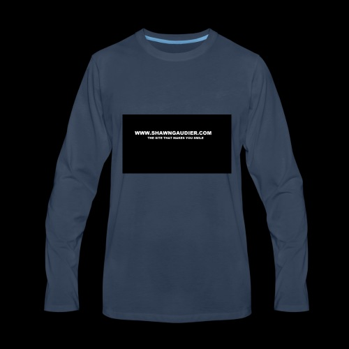 Shawn Gaudier T Shirt Logo - Men's Premium Long Sleeve T-Shirt