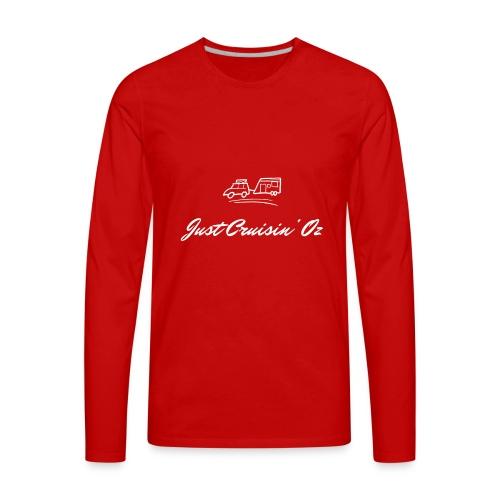 Just CruisinOz - Men's Premium Long Sleeve T-Shirt