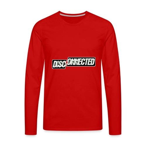 Disconnected - Men's Premium Long Sleeve T-Shirt