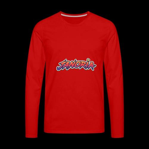 Janoria's Name - Men's Premium Long Sleeve T-Shirt