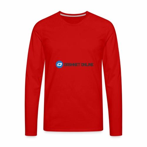 dashnet online dark - Men's Premium Long Sleeve T-Shirt
