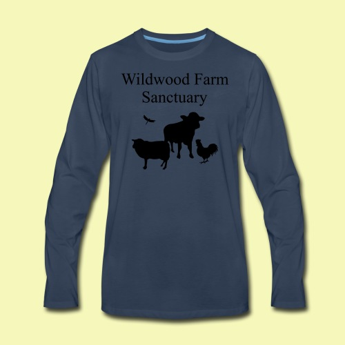 Black Cow - Men's Premium Long Sleeve T-Shirt