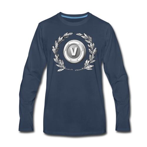 V-Bucks Made Me Do It - Men's Premium Long Sleeve T-Shirt