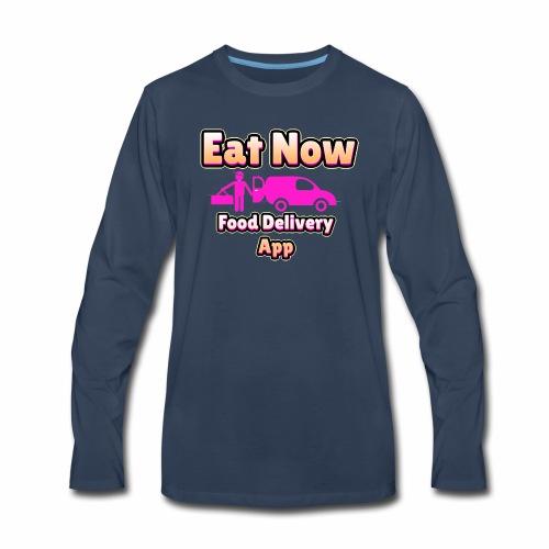 eatnowpng - Men's Premium Long Sleeve T-Shirt