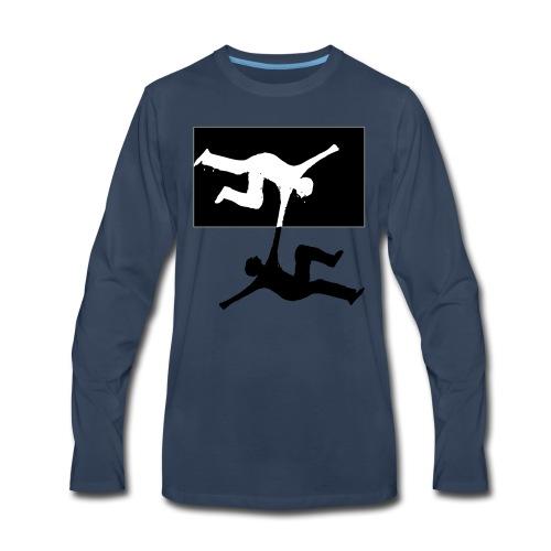 BORDERLESS FRIENDS - Men's Premium Long Sleeve T-Shirt
