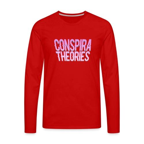 Women's - ConspiraTheories Official T-Shirt - Men's Premium Long Sleeve T-Shirt