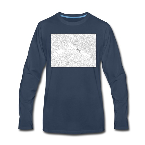 GunLines - Men's Premium Long Sleeve T-Shirt
