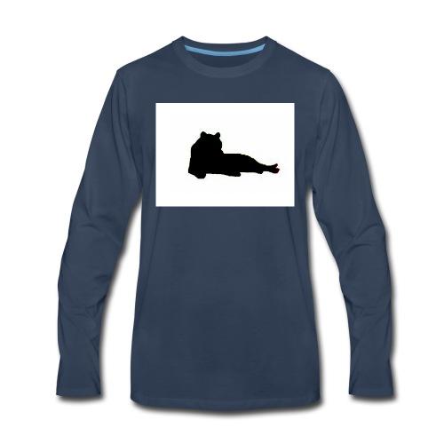 tiggers_noir - Men's Premium Long Sleeve T-Shirt