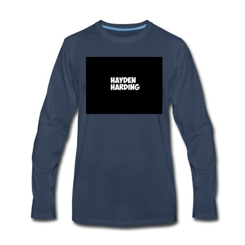 HELLLLLLO - Men's Premium Long Sleeve T-Shirt