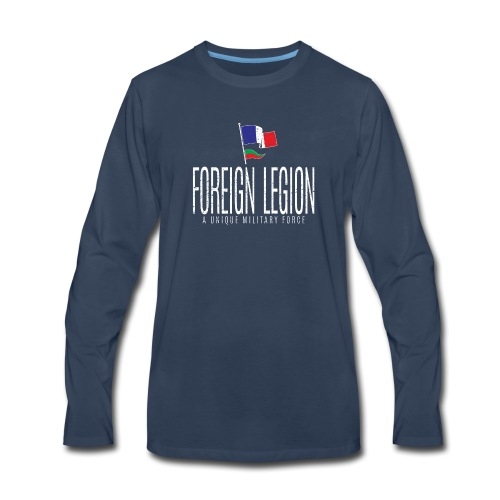 Foreign Legion - Unique Force - Men's Premium Long Sleeve T-Shirt