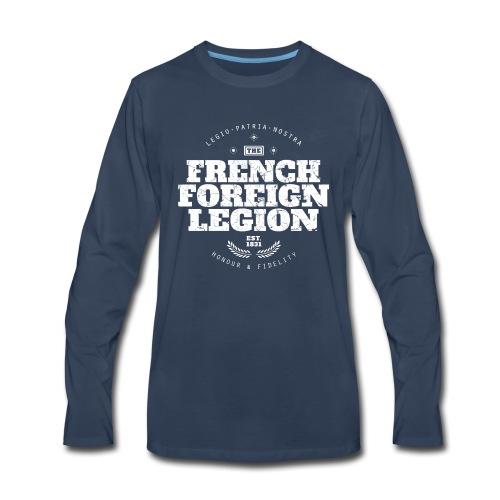 The French Foreign Legion - White - Men's Premium Long Sleeve T-Shirt