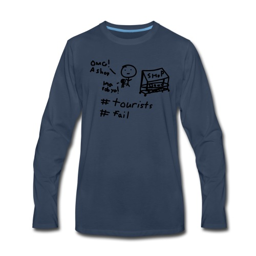 #FAIL Tshirt - Men's Premium Long Sleeve T-Shirt