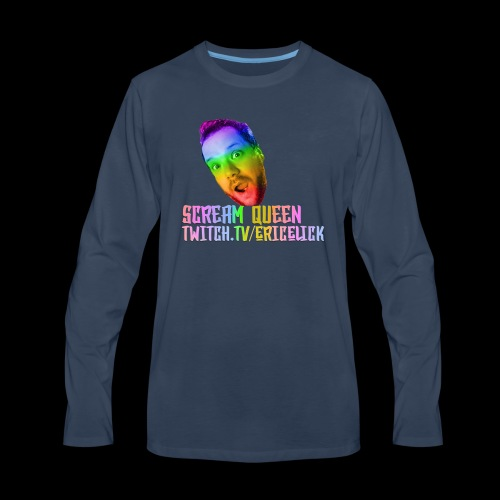 Scream Queen Pride Shirt - Men's Premium Long Sleeve T-Shirt