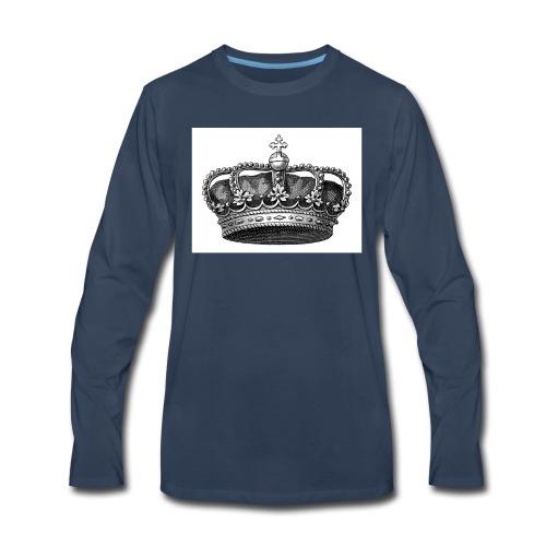 crown COLLECTION - Men's Premium Long Sleeve T-Shirt