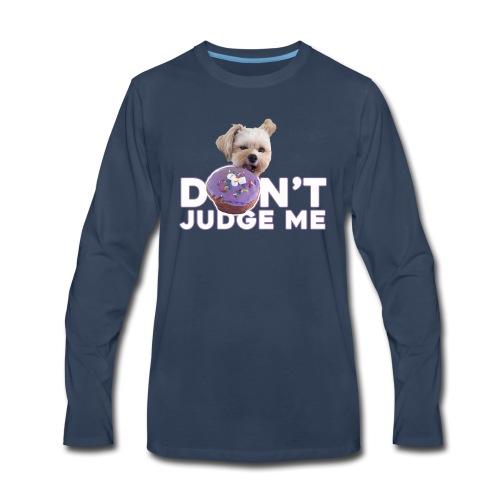 Popeye Don't Judge - Men's Premium Long Sleeve T-Shirt