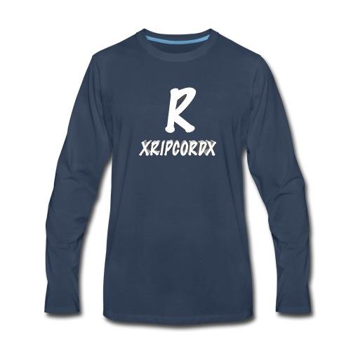 XRIPCORDX Fitness Shirt - Men's Premium Long Sleeve T-Shirt