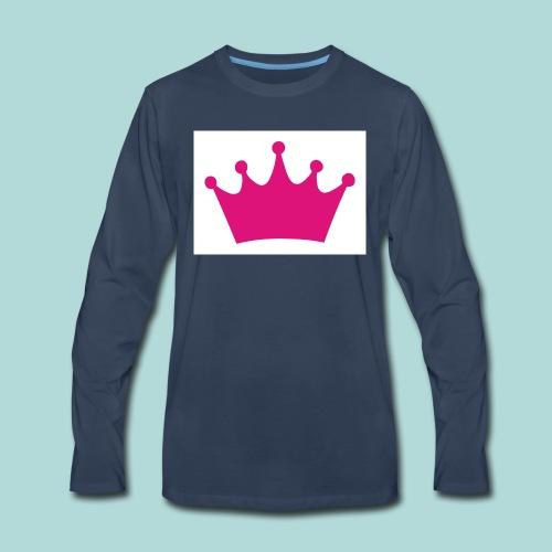 crown - Men's Premium Long Sleeve T-Shirt