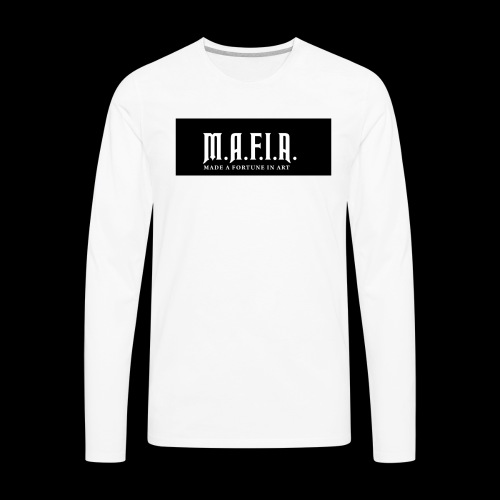Classic Mafia Logo Black - Men's Premium Long Sleeve T-Shirt