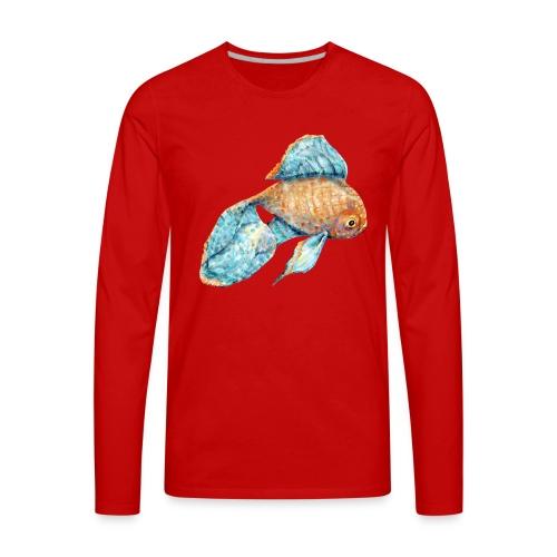 Blue Goldfish - Men's Premium Long Sleeve T-Shirt