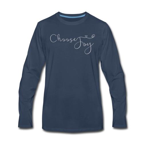 Choose Joy - Men's Premium Long Sleeve T-Shirt