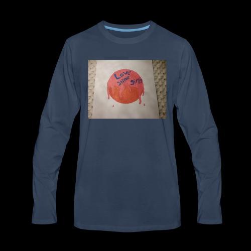 Love slime girls - Men's Premium Long Sleeve T-Shirt