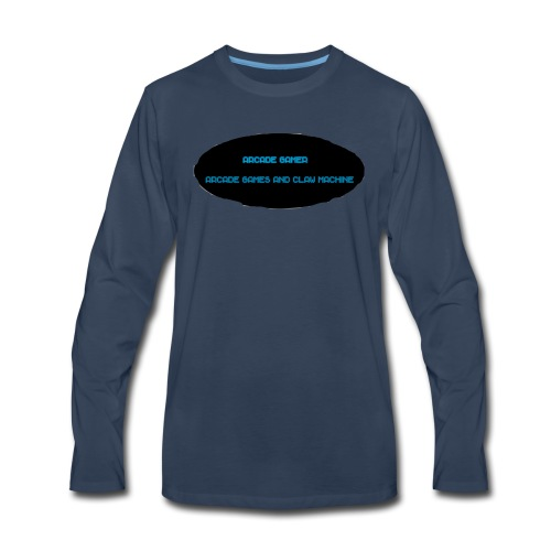 Arcade Gamer shirt - Men's Premium Long Sleeve T-Shirt