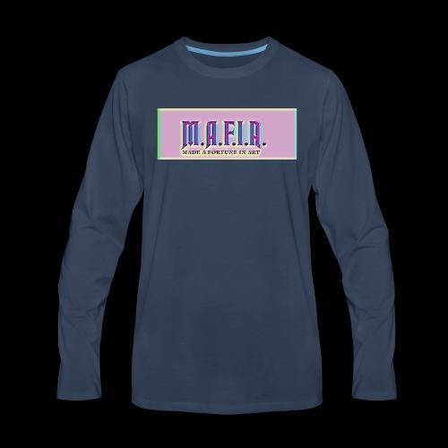 Trippy Mafia Logo - Men's Premium Long Sleeve T-Shirt