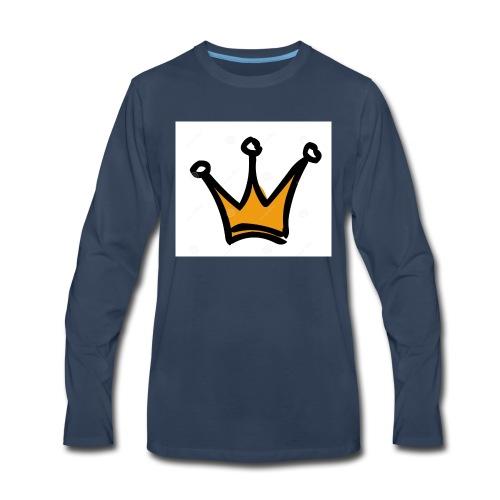 crown-1196222 - Men's Premium Long Sleeve T-Shirt