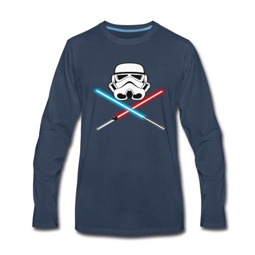 I AM AWESOME! - Men's Premium Long Sleeve T-Shirt