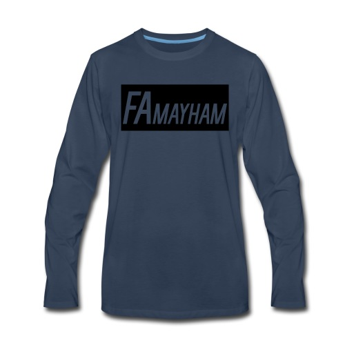 FAmayham - Men's Premium Long Sleeve T-Shirt