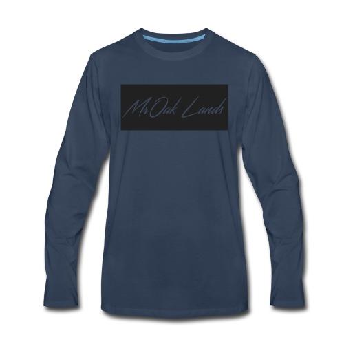 Mr Oak Lands Hoddie - Men's Premium Long Sleeve T-Shirt