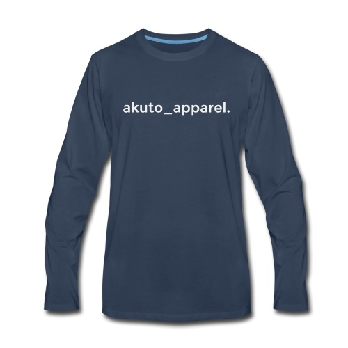 simple_text. - Men's Premium Long Sleeve T-Shirt