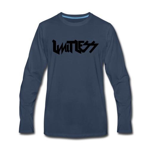 limitlesslogo tour inspired - Men's Premium Long Sleeve T-Shirt