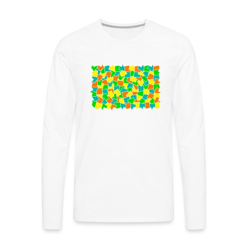 Dynamic movement - Men's Premium Long Sleeve T-Shirt