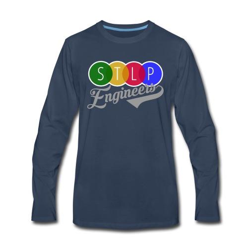 STLP Engineer Logo - Men's Premium Long Sleeve T-Shirt