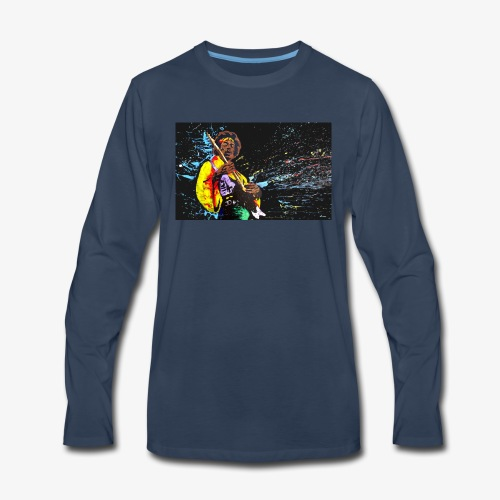 rasta rocker - Men's Premium Long Sleeve T-Shirt