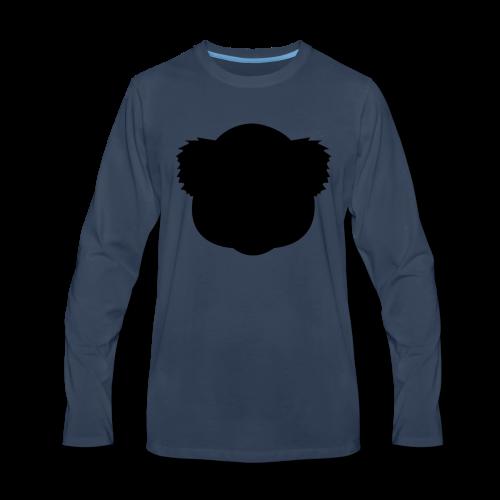 BlackKoalaLogo - Men's Premium Long Sleeve T-Shirt