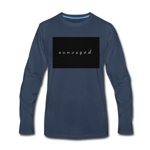 sunvsgod merch - Men's Premium Long Sleeve T-Shirt
