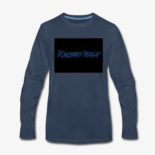 Rakshit Wolf - Men's Premium Long Sleeve T-Shirt
