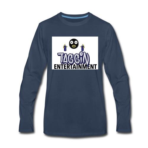 Taggin - Men's Premium Long Sleeve T-Shirt