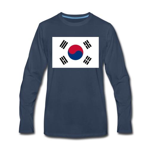 Flag of South Korea - Men's Premium Long Sleeve T-Shirt